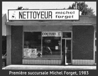 Première succursale Michel Forget, 1983